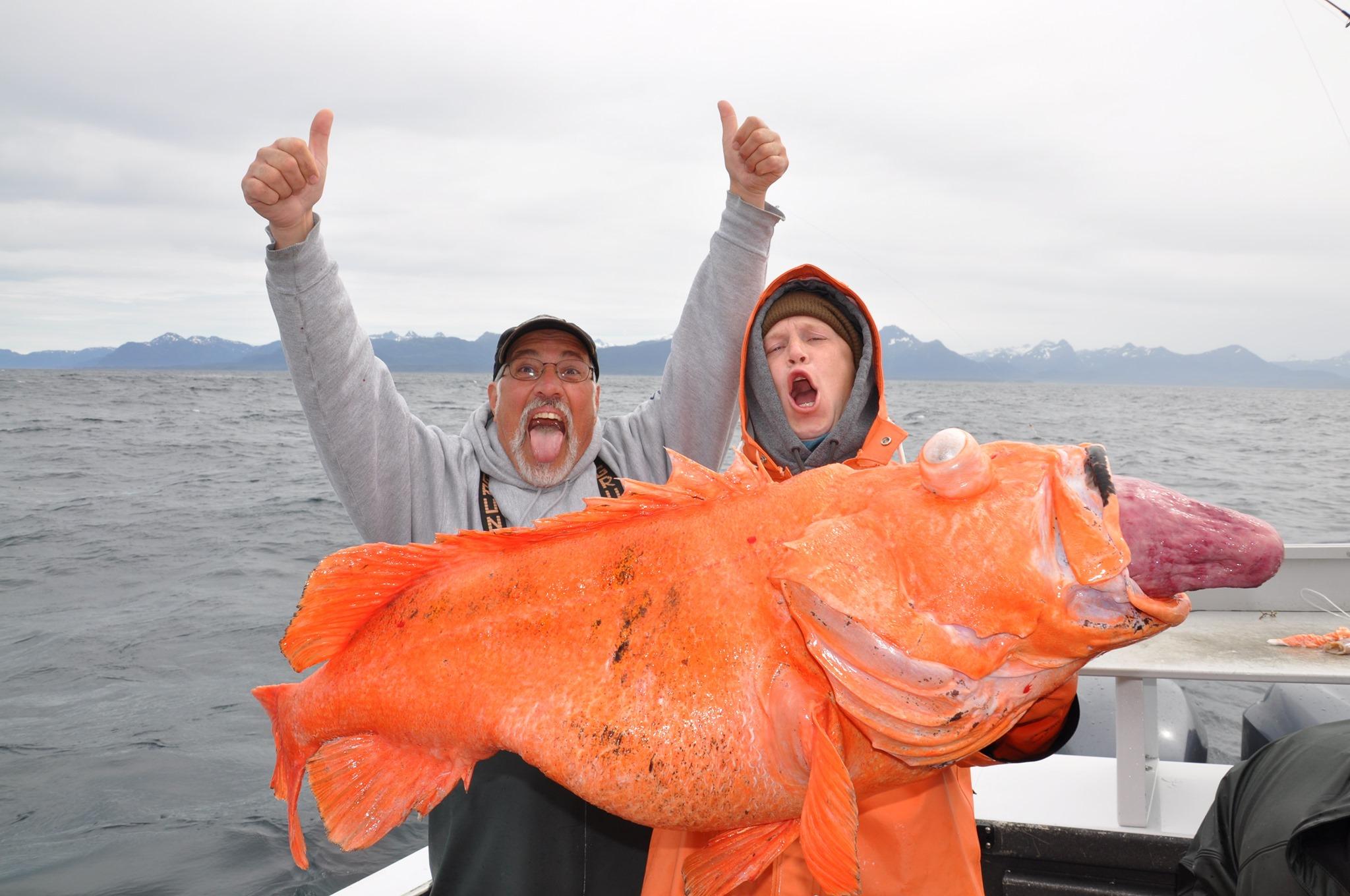rockfish fishing alaska
