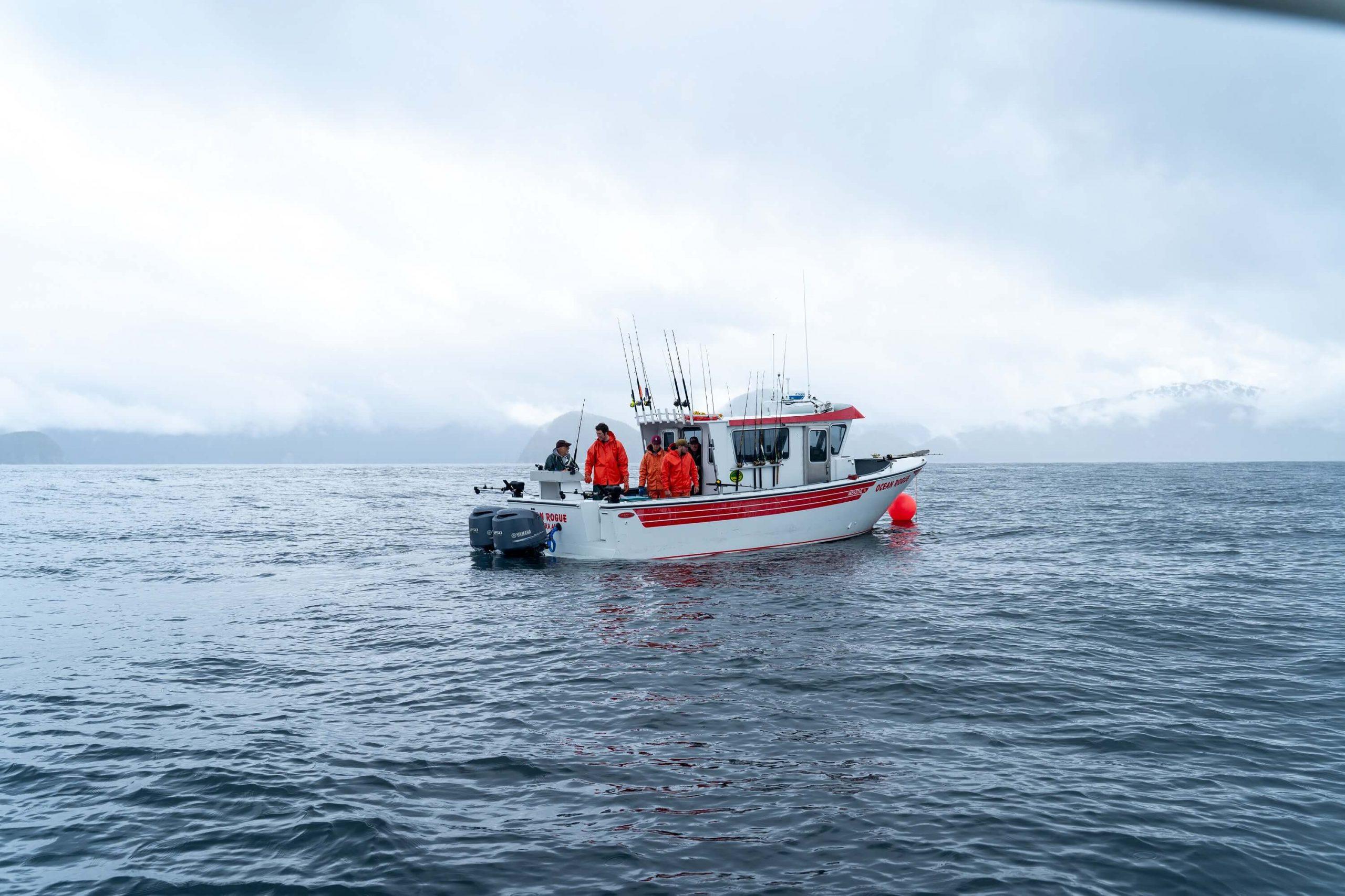 deep sea fishing alaska